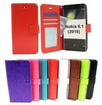 Crazy Horse Wallet Nokia 6 (2018)