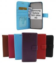 New Standcase Wallet Samsung Galaxy S21 Ultra 5G (G998B)