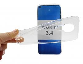 Ultra Thin TPU Cover Nokia 3.4