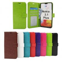 Crazy Horse Wallet Nokia 3.1 Plus