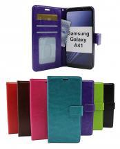 Crazy Horse Wallet Samsung Galaxy A41