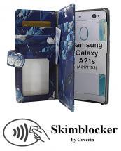 Skimblocker XL Designwallet Samsung Galaxy A21s (A217F/DS)