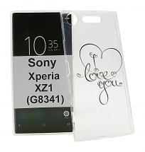 TPU Designcover Sony Xperia XZ1 (G8341)