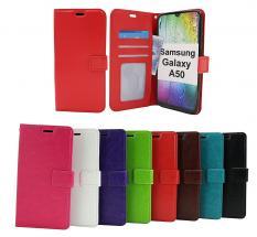 Crazy Horse Wallet Samsung Galaxy A50 (A505FN/DS)