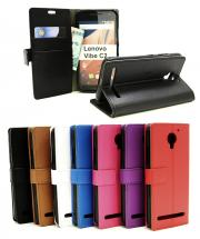 Standcase Wallet Lenovo Vibe C2