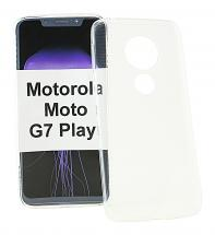 Ultra Thin TPU Cover Motorola Moto G7 Play