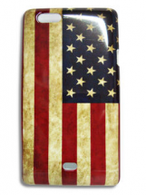 Old USA hardcase Cover Sony Xperia Miro (ST23i)