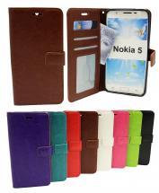 Crazy Horse Wallet Nokia 5