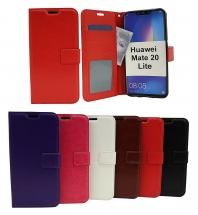Crazy Horse Wallet Huawei Mate 20 Lite