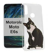 TPU Designcover Motorola Moto E6s