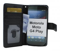 New Standcase Wallet Motorola Moto G4 Play