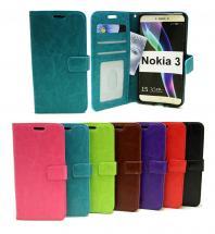Crazy Horse Wallet Nokia 3