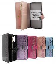 XL Standcase Glitterwallet Samsung Galaxy A32 5G (SM-A326B)