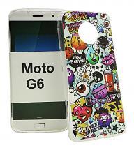 TPU Designcover Motorola Moto G6