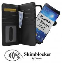 Skimblocker XL Magnet Wallet Huawei P Smart 2021