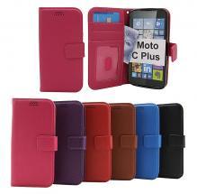 New Standcase Wallet Moto C Plus (XT1723)