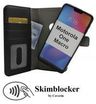 Skimblocker Magnet Wallet Motorola One Macro