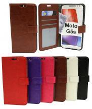 Crazy Horse Wallet Moto G5s