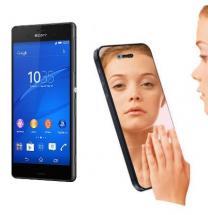 Skærmbeskyttelse med spejlfunktion Sony Xperia Z3 (D6603)