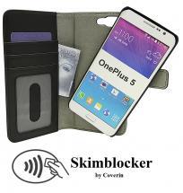 Skimblocker Magnet Wallet OnePlus 5