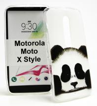 TPU Designcover Motorola Moto X Style