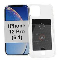 TPU Cover med kortlomme iPhone 12 Pro (6.1)