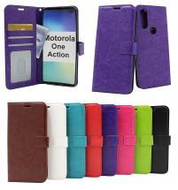 Crazy Horse Wallet Motorola One Action