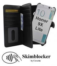 Skimblocker XL Magnet Wallet Huawei Honor 9X Lite