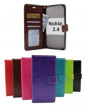 Crazy Horse Wallet Nokia 2.4
