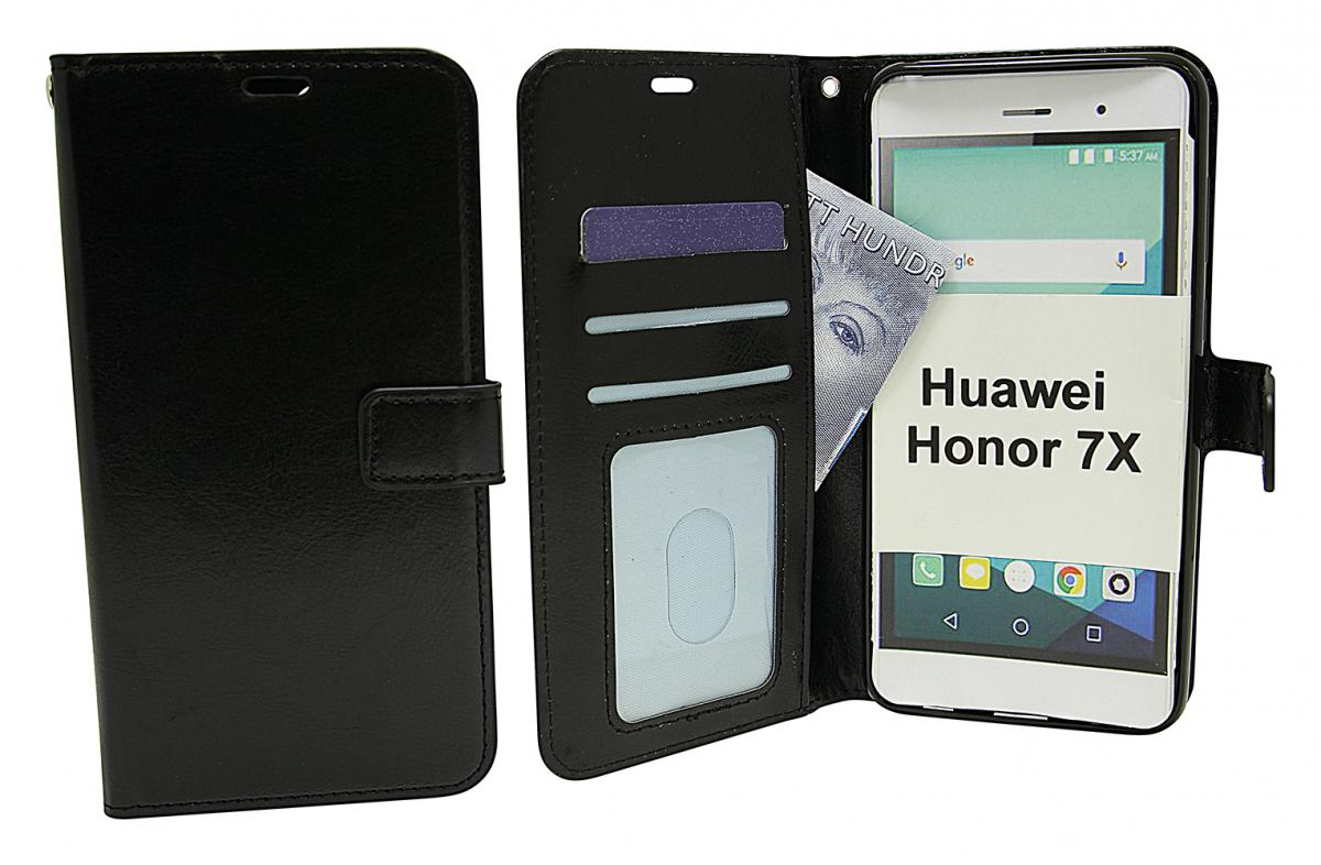 Crazy Horse Wallet Huawei Honor 7X