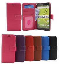 New Standcase Wallet Lenovo K6 (K33a48 / K33a42)