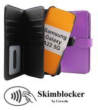Skimblocker XL Magnet Wallet Samsung Galaxy A22 5G (SM-A226B)