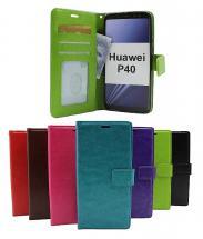 Crazy Horse Wallet Huawei P40