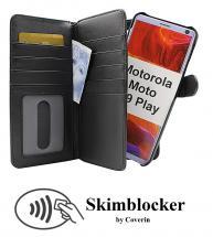 Skimblocker XL Magnet Wallet Motorola Moto G9 Play