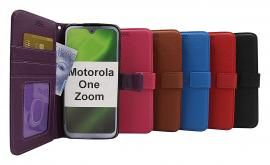 New Standcase Wallet Motorola One Zoom