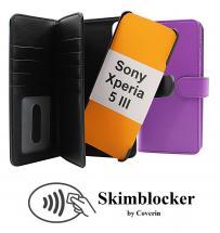 Skimblocker XL Magnet Wallet Sony Xperia 5 III (XQ-BQ52)
