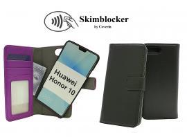 Skimblocker Magnet Wallet Huawei Honor 10