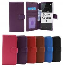 New Standcase Wallet Sony Xperia 1 (J9110)