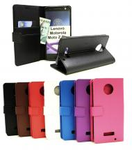 Standcase Wallet Lenovo Motorola Moto Z Play