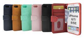 Zipper Standcase Wallet iPhone 6/7/8/SE 2nd Gen.