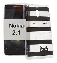 TPU Designcover Nokia 2.1