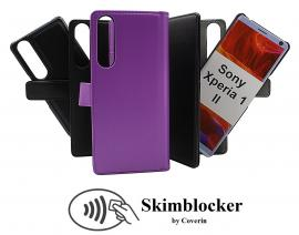 Skimblocker Magnet Wallet Sony Xperia 1 II (XQ-AT51)