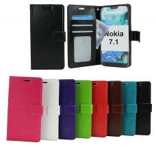Crazy Horse Wallet Nokia 7.1