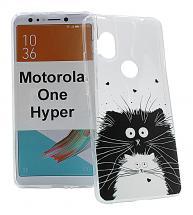 TPU Designcover Motorola One Hyper