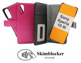 Skimblocker Magnet Wallet Sony Xperia 10 III (XQ-BT52)