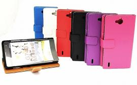 Standcase wallet Huawei Ascend G740