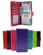 Crazy Horse Wallet Nokia 5.3