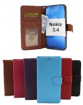 New Standcase Wallet Nokia 3.4