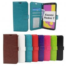 Crazy Horse Wallet Xiaomi Redmi 7