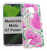 TPU Designcover Motorola Moto G7 Power